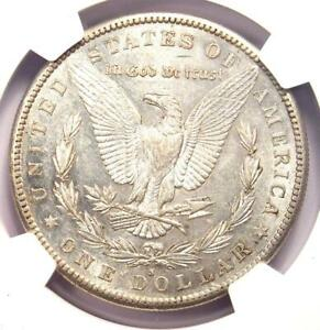 1883 S MORGAN SILVER DOLLAR $1 COIN   CERTIFIED NGC AU53   SHARP FEATHERS