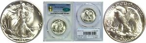 Click now to see the BUY IT NOW Price! 1939 S WALKING LIBERTY HALF DOLLAR PCGS MS 67  CAC