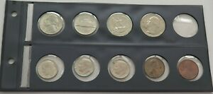 SMALL GROUP / COLLECTION / LOT UNITED STATES 9 PC 53 G  XXB 57