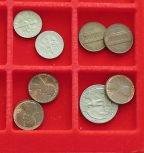 COLLECTION LOT UNITED STATES 8 PC 27 G  XXB 100
