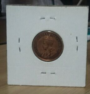 VERY GOOD 1934 CANADA SMALL CENT IN VF CONDITION KM28 BRONZE 19.10MM LOOK & BID