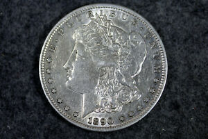 ESTATE FIND 1890   S MORGAN DOLLAR   D25413