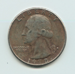 1978 D WASHINGTON QUARTER   CIRCULATED