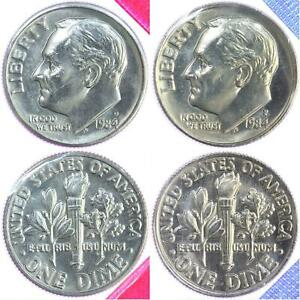 1981 P//D Roosevelt Dime SET IN MINT CELLO FREE SHIPPING ON ADDITIONAL COINS