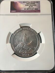 Click now to see the BUY IT NOW Price! 2012 P 5 OUNCE SILVER ATB HAWAII VOLCANOES NGC EARLY RELEASES SP70 FLAWLESS