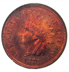 Click now to see the BUY IT NOW Price! 1878 PROOF INDIAN CENT 1C PENNY   NGC PR66 RB CAMEO  PF66    $5 500 VALUE