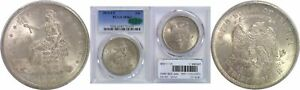 Click now to see the BUY IT NOW Price! 1875 CC TRADE DOLLAR PCGS MS 63 CAC