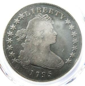 1795 DRAPED BUST SILVER DOLLAR  $1 COIN SMALL EAGLE    CERTIFIED PCGS VG DETAIL