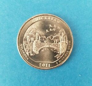 2011 P  CHICKASAW NATIONAL PARK QUARTER   BRILLIANT UNCIRCULATED