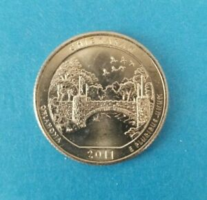 2011 D  CHICKASAW NATIONAL PARK QUARTER   BRILLIANT UNCIRCULATED