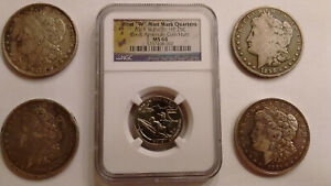 CULL SILVER MORGAN DOLLARS 1878 1888 1896 1921   NGC WEST POINT PACIFIC HP MS64