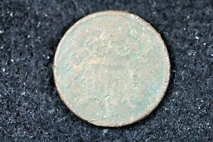 ESTATE FIND 1865   TWO CENT PIECE    H15868