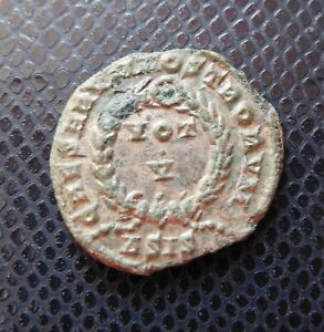 ROMAN IMPERIAL   EMPIRE / ANCIENT BRONZE COIN / 7.