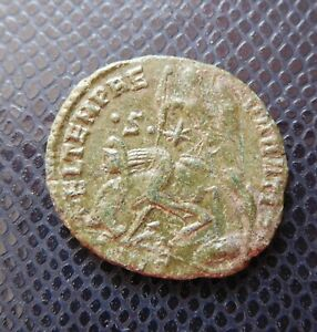 ROMAN IMPERIAL   EMPIRE / ANCIENT BRONZE COIN / 8.