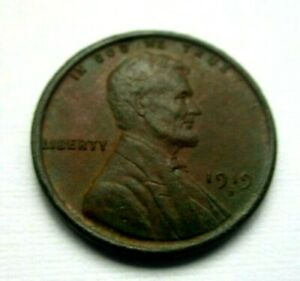 1919 D LINCOLN WHEAT CENT  PROBLEM FREE  XF  CONDITION PLEASANT BROWN COLOR
