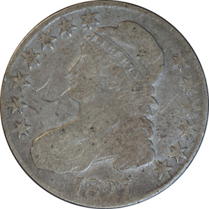 1827 BUST HALF DOLLAR GREAT DEALS FROM THE EXECUTIVE COIN COMPANY