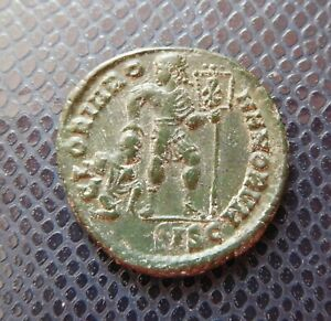 ROMAN IMPERIAL   EMPIRE / ANCIENT BRONZE COIN / 4.