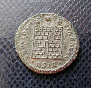 ROMAN IMPERIAL   EMPIRE / ANCIENT BRONZE COIN / 3.