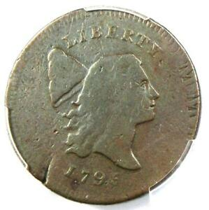 1795 LIBERTY CAP FLOWING HAIR HALF CENT 1/2C   CERTIFIED PCGS VG8   $975 VALUE
