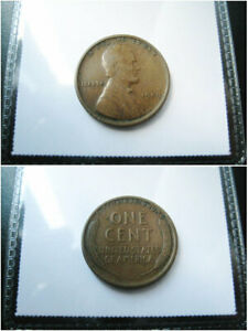 1909 LINCOLN WHEAT CENT PENNY CHOICE VF COIN