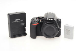 NIKON D5600 DSLR 24.2MP DIGITAL CAMERA BODY                                 604