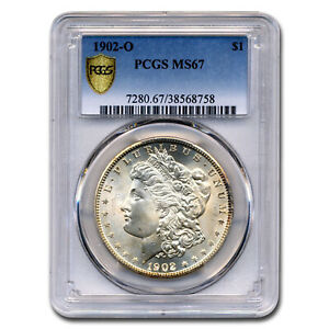 Click now to see the BUY IT NOW Price! 1902 O MORGAN DOLLAR MS 67 PCGS   SKU167074
