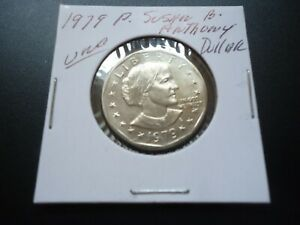 1979 P  UNCIRCULATED SUSAN B. ANTHONY DOLLAR COIN