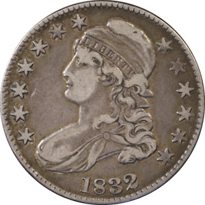 1832 BUST HALF DOLLAR O 121 R.3 GREAT DEALS FROM THE EXECUTIVE COIN COMPANY