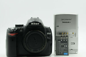 NIKON D5000 12.3MP DIGITAL SLR CAMERA BODY                                  279