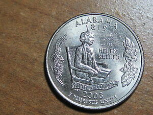 2003 D ALABAMA STATE QUARTER