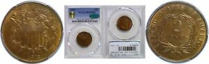 Click now to see the BUY IT NOW Price! 1872 TWO CENT PIECE PCGS MS 65 RB CAC