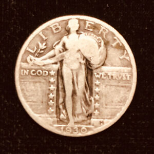 1930 STANDING LIBERY QUARTER GOOD GRADE LOT8