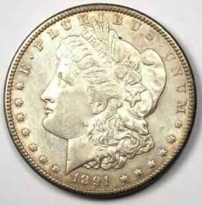 1891 CC MORGAN SILVER DOLLAR $1   EXCELLENT CONDITION    CARSON CITY COIN