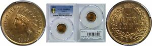 Click now to see the BUY IT NOW Price! 1865 INDIAN HEAD CENT PCGS MS 65 RD FANCY 5