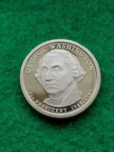 2007  S  GEORGE WASHINGTON    PROOF  PRESIDENTIAL DOLLAR COIN