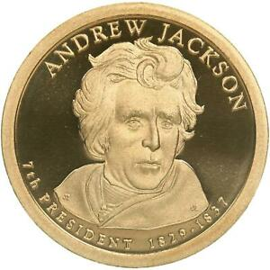 2008 S PRESIDENTIAL DOLLAR ANDREW JACKSON GEM DEEP CAMEO PROOF