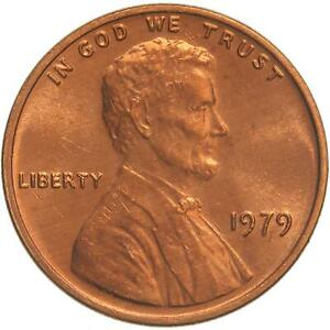 1979 LINCOLN MEMORIAL CENT CHOICE BU PENNY US COIN
