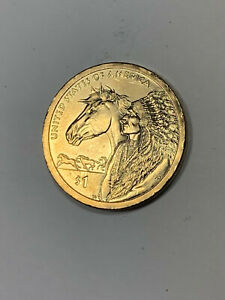 2012 P SACAGAWEA DOLLAR WITH HORSE AND CHIEF REVERSE