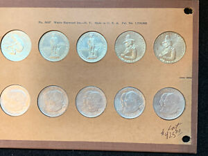 Click now to see the BUY IT NOW Price! 10 PC LOT CALIFORNIA COMMEMORATIVES; 1 JUBILEE 2 LEXINGTON 5 MONROE 2 PILGRIM