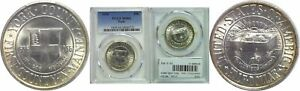 1936 YORK SILVER COMMEMORATIVE PCGS MS 64