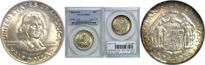 1934 MARYLAND SILVER COMMEMORATIVE PCGS MS 65