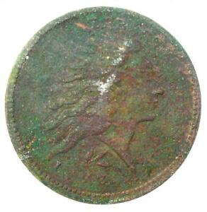 1793 FLOWING HAIR WREATH CENT 1C  S 11C    ANACS VF30 DETAILS    COIN