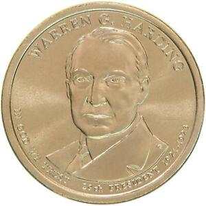 2014 P PRESIDENTIAL DOLLAR WARREN G HARDING GEM BU CLAD US COIN