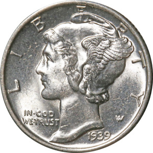 1939 P MERCURY DIME GREAT DEALS FROM THE EXECUTIVE COIN COMPANY