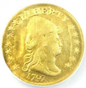 1797 CAPPED BUST GOLD QUARTER EAGLE $2.50 COIN   NGC VF DETAILS    DATE