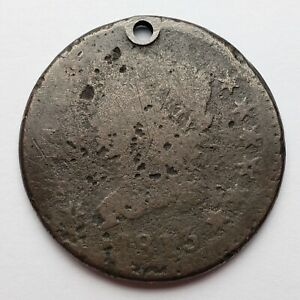 1813 CLASSIC HEAD LARGE CENT HOLED S 293 R2