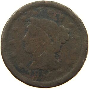 UNITED STATES LARGE CENT 1850 A07 335
