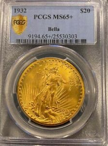 Click now to see the BUY IT NOW Price! 1932 $20 ST GAUDENS MS65  PCGS  PA25530303