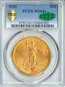 Click now to see the BUY IT NOW Price! 1931 $20 ST GAUDENS MS64  PCGS CAC  PA34866382