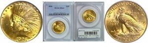 1926 $10 GOLD COIN PCGS MS 62